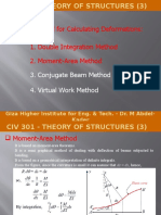 Theory of Structures (3)-CIV 301-Dr M Abdel-Kader-Moment-Area Method