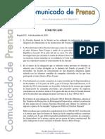 Comunicado de la Fiscalía por inspección al CNE para datos de campaña de Petro