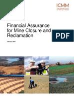 565FA-Fullreport Financial Assurance Mining