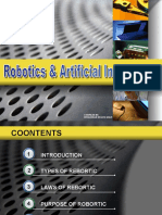 ROBOTIC & ARTIFICIAL INTELLIGENCE