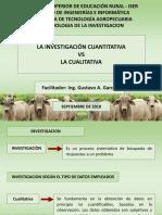 METODOLOGIA DE LA INVASTIGACION - INVESTIGACION CUALITATIVA Y CUANTITATIVA