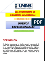Clase 12 Al 14 - Diseños Experimentales