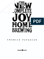 The New Complete Joy of Homebrewing - Charlie Papazian