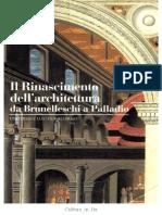 Bertrand Jestaz - Il Rinascimento Dell'Architettura Da Brunelleschi a Palladio (1995, Electa_Gallimard)