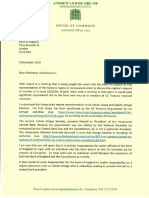 Carta del Parlamento de Inglaterra