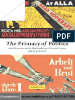 DEMOCRACY The Primacy of Politics Social Democracy and the Making of Europe's Twentieth Century.pdf