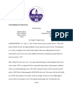 relay for life press release pdf