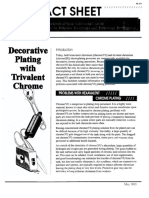 Decorative Plating With Trivalent Chrome