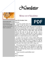 winter 2019 newsletter