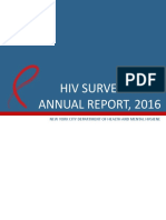 NYC HIV Surveillance Annual Report 2016