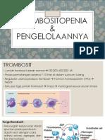 referat trombositopenia