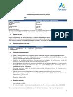 Perfil Profesional de Desarrollo Organizacional