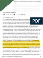 A Criacao Do Bispado de Alagoas - Religiao e Politica Nos Primeiros Anos Da Republica Dos Estados Unidos Do Brasil 1889-1910
