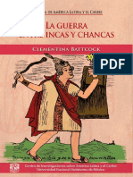 Battcock, Clementina. - La guerra entre incas y chancas