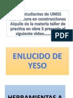 Los Estudiantes de UMSS Licenciatura en Construcciones Aiquile