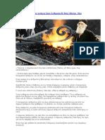 Άγιος Παΐσιος Όταν Ανάψη Στον Άνθρωπο Η Θεία Φλόγα, Όλα Καίγονται
