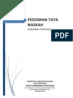 PEDOMAN Tata Naskah versi puskesmas.docx