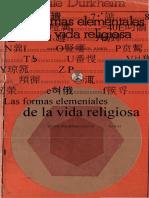 Durkheim.emile Las Formas Elementales de La Vida Religiosa