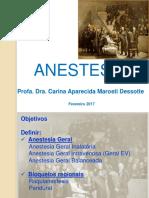 Aula Anestesia