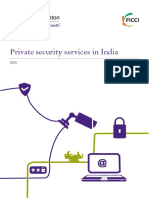 Private Security Services Industry in India