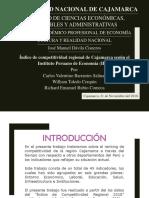 Indicadores INCORE Cajamarca IPE