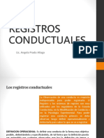 REGISTROS CONDUCTUALES
