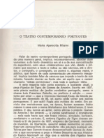 o Teatro Contemporaneo Portugues