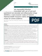AMI Hospitalization and NSAID 2012