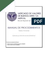 Merval.ar - Manual de Procedimientos