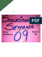 Solucionario Cepre Sem09 2018-i
