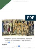 La América Violada_ Las Violencias Contra Las Mujeres en La Conquista
