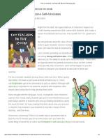 how co-teachers can help kids become self-advocates