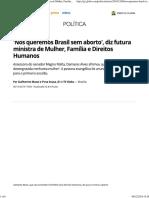 Nós Queremos Brasil Sem Aborto