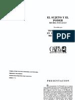 EDGAR GARAVITO-TIEMPO Y ESPACIO EN MF-EL SUJETO Y EL PODER-Michel Foucault.pdf