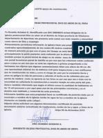 Documentos de La Iglesia de Uripa