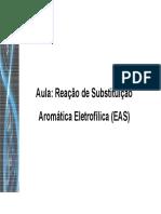 Reação de substituicao aromatica nucleofilica