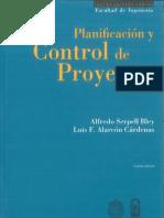Planificación Y Control de Proyectos - Alfredo Serpell Bley & Luis F. Alarcón Cárdenas (4ta Edición)