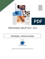 Professor - Artes Aplicadas