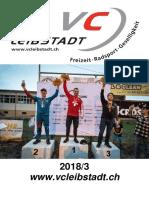 Vereinsheft Veloclub Leibstadt 2018/3