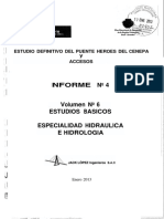 Volumen Nro 6 Especialidad Hidraulica e Hidrologia
