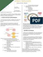 RESUMO FARMACO - Antibacterianos