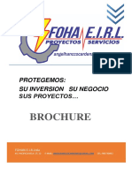 Brochure Actualizado de Fohan e.i.r.l.