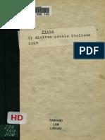 Il Diritto Penale Italiano
