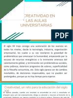 La Creatividad en Las Aulas Universitarias Juan Manuel Valencia Velosa
