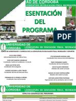 PRESENTACION DE LALICENCIATURA EN EFRYD 2016.pptx