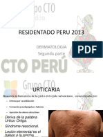 Clase Dermatologia 2 - Residentado Peru 2013