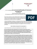 personal philosophy log assesment 2