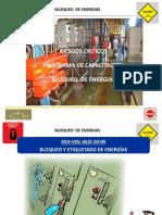 Capacitacion - BLOQUEO DE ENERGÍAS