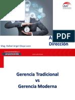 Gerencia Tradicional vs Gerencia Moderna