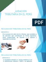 Recaudacion Tributaria en El Perú